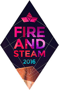 Fire And Steam 2016 Logo